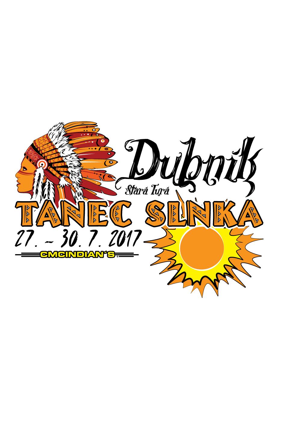 Pamätné tričko Tanec Slnka 2017